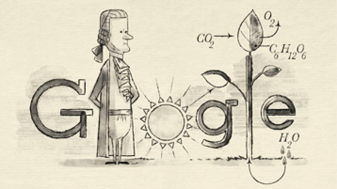 Jan Ingenhousz: Στον Ολλανδό επιστήμονα αφιερωμένο το σημερινό Doodle της Google