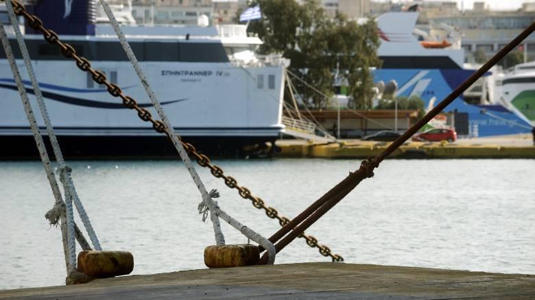 Δεμένα τα πλοία στα λιμάνια την Πέμπτη 14 Δεκεμβρίου