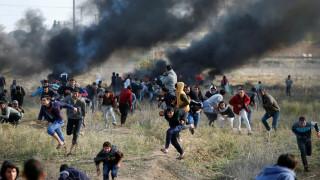 Συγκρούσεις στη Γάζα: Παλαιστίνιος έπεσε νεκρός από ισραηλινά πυρά (pics&vid)