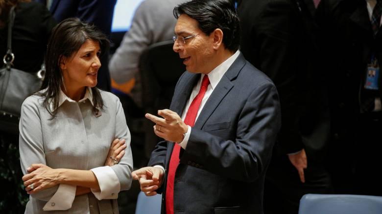 Χέιλι: Οι ΗΠΑ παραμένουν προσηλωμένες στην ειρηνευτική διαδικασία στη Μέση Ανατολή