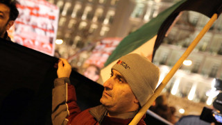 Πορεία διαμαρτυρίας στη Θεσσαλονίκη κατά της απόφασης του Τραμπ για την Ιερουσαλήμ (pics&vid)