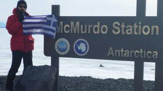 Ένας Έλληνας γεωλόγος εκπαιδεύεται στην παγωμένη Ανταρκτική για αποστολή της… NASA! (pics)