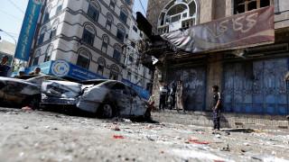 Αεροπορικός βομβαρδισμός στη δημόσια τηλεόραση της Υεμένης