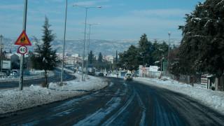 Χιόνια στη Βόρεια Ελλάδα – Πού χρειάζονται αντιολισθητικές αλυσίδες