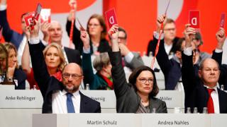 Γερμανία: Πολιτικοί του SPD κατά του νέου συνασπισμού με το CDU