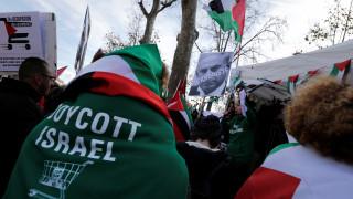 Γαλλία: Διαδηλώσεις κατά της άφιξης του Νετανιάχου στο Παρίσι (pics)