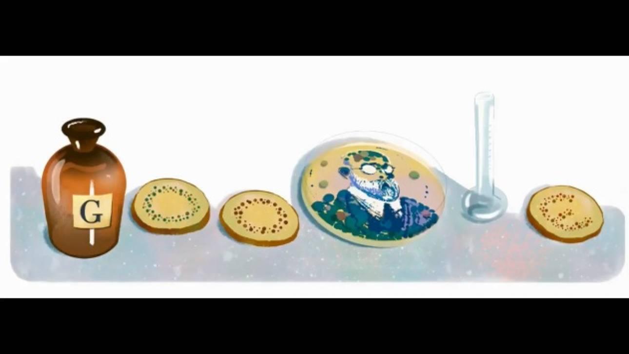 Στον Ρόμπερτ Κοχ αφιερωμένο το σημερινό Google Doodle