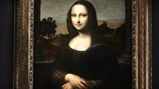 «Ζωγράφισαν» τη Μόνα Λίζα σε καμβά από… DNA (pic)