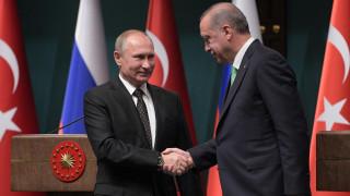 Συνάντηση Πούτιν - Ερντογάν στην Άγκυρα