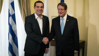 Επικοινωνία Τσίπρα – Αναστασιάδη για την επίσκεψη Ερντογάν