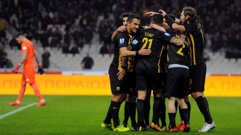 Super League: Πάλι στην κορυφή η ΑΕΚ (photos)