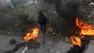 Ονδούρα: Βίαιη απομάκρυνση διαδηλωτών από στρατό και αστυνομία