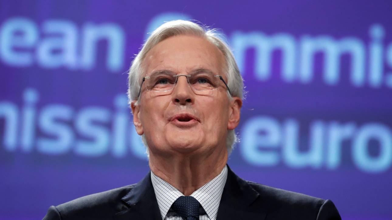 Μπαρνιέ για το Brexit: Δεν υπάρχει επιστροφή για τη Βρετανία