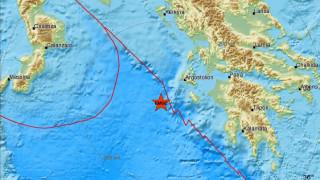 Σεισμός 4,3 Ρίχτερ δυτικά της Ζακύνθου