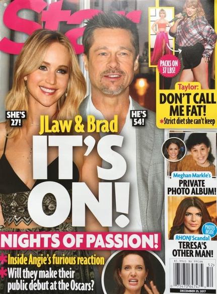 Brad Pitt Jennifer Lawrence Dating 600x814