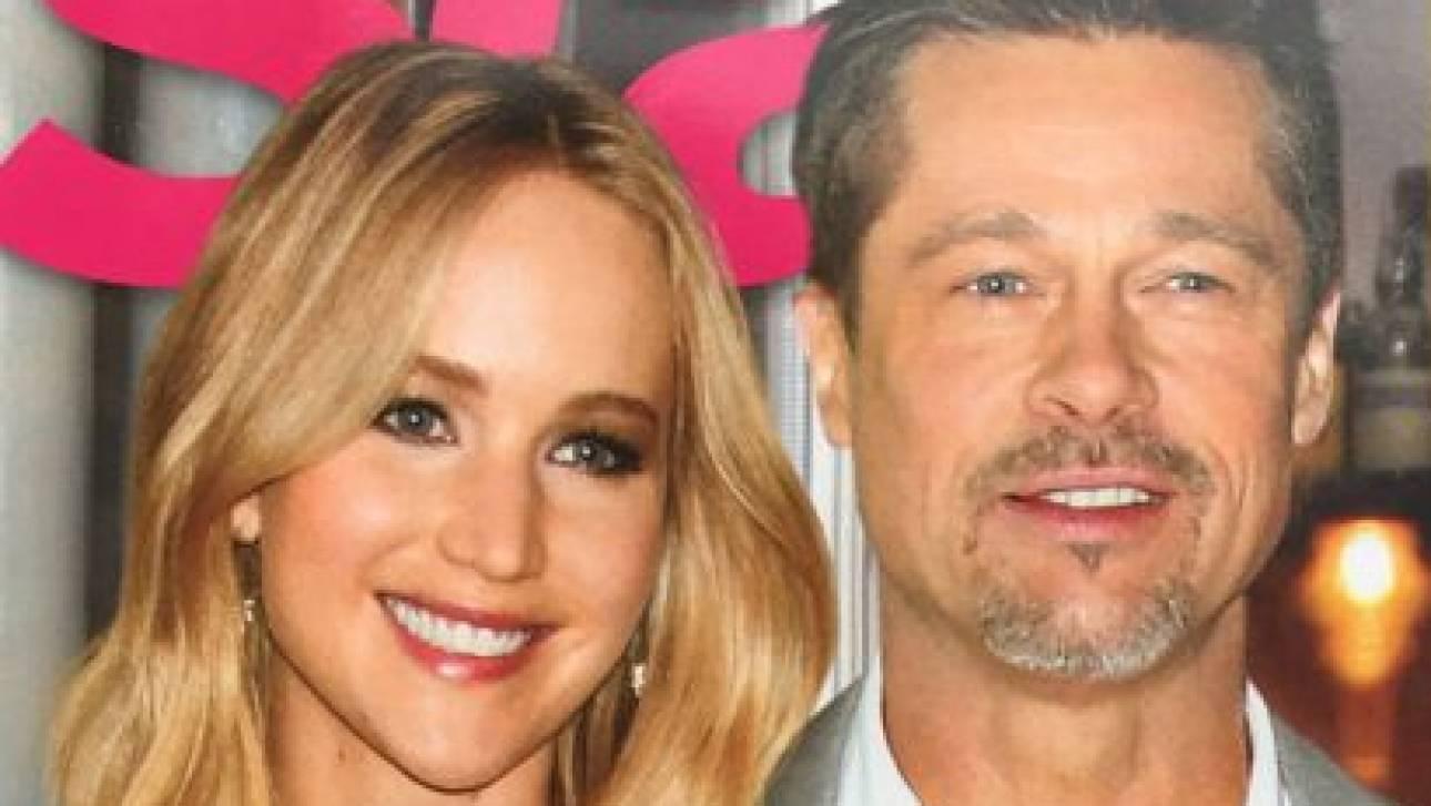 Fake news: όχι, ο Brad Pitt ΔΕΝ είναι ζευγάρι με τη Jennifer Lawrence