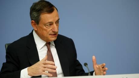 Ντράγκι: Η ελληνική κυβέρνηση θα αποφασίσει αν χρειάζεται 4ο πρόγραμμα