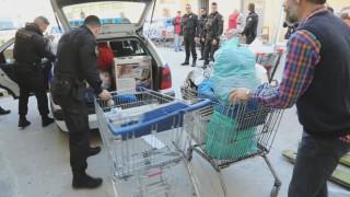 Η ομάδα ΔΙΑΣ προσφέρει στους αστέγους