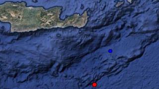 Σεισμική δόνηση στη θαλάσσια περιοχή νότια της Ιεράπετρας