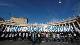 Τα 81α γενέθλιά του γιόρτασε ο πάπας Φραγκίσκος με χιλιάδες ευχές (pics)