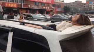 Κίνα: Νεαρή Κινέζα επέζησε μετά από πτώση στο κενό από ύψος 30 μέτρων (vid)