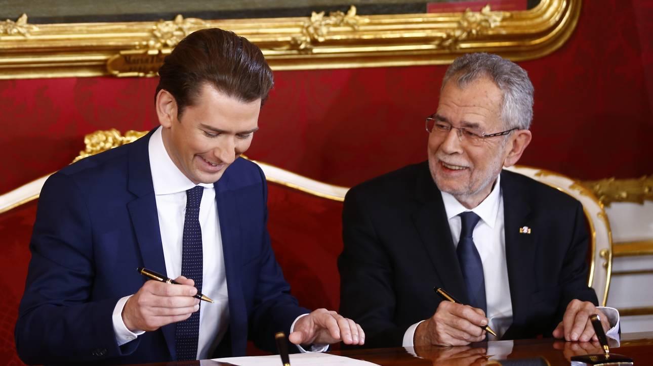 Αυστρία: Ανέλαβε επισήμως καθήκοντα ο Σεμπάστιαν Κουρτς (pics)