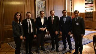 Συνάντηση του Τσίπρα με τον γενικό διευθυντή του ESA
