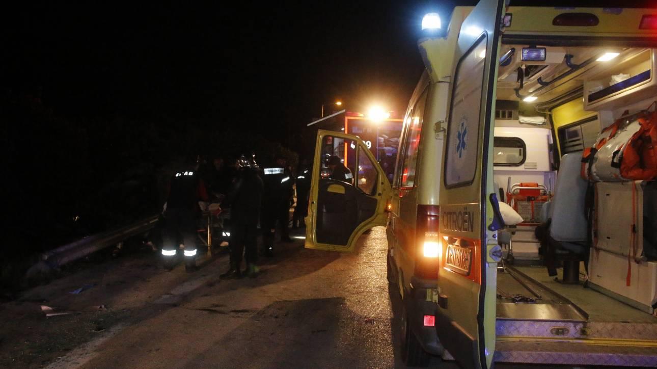 Τροχαίο με δύο νεκρούς στο Μεσολόγγι