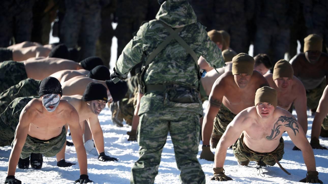 Η Ν. Κορέα πρόθυμη να περιορίσει τα στρατιωτικά γυμνάσια με τις ΗΠΑ ενόψει Ολυμπιακών