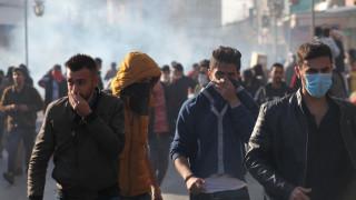 Άγριες συγκρούσεις σε διαδήλωση με αίτημα την παραίτηση της κυβέρνησης του Ιρακινού Κουρδιστάν