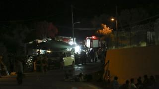 Μυτιλήνη: Σοβαρά επεισόδια με τραυματίες στη Μόρια