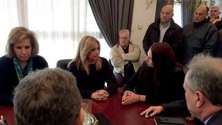 Γεννηματά από Μάνδρα: Πρέπει να προχωρήσουν άμεσα τα αντιπλημμυρικά έργα