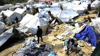 Τραυματισμοί, οπλοκατοχή, κλοπές και συλλήψεις στη Μόρια