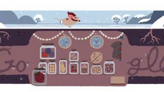 Χειμερινό Ηλιοστάσιο: Το σημερινό Doodle της Google (pic)