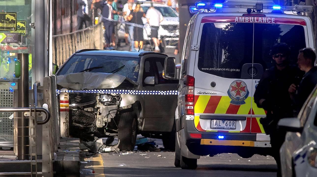 Βίντεο-ντοκουμέντο από τη στιγμή που έπεσε το αυτοκίνητο σε πεζούς στη Μελβούρνη