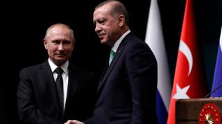 Πούτιν και Ερντογάν συμφωνούν υπέρ της δημιουργίας ενός παλαιστινιακού κράτους