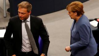 Λίντνερ: Ανοιχτό το ενδεχόμενο συμμετοχής σε κυβερνητικό συνασπισμό, αλλά όχι υπό τη Μέρκελ