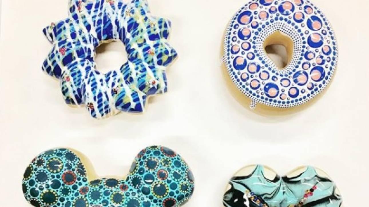Τα πιο εντυπωσιακά ντόνατς φτιάχνονται στο Νιού Τζέρσεϊ και… δεν παχαίνουν