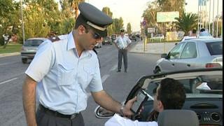 Χανιά: Αλκοτέστ μιας χρήσης δώρο στους οδηγούς από την Τροχαία
