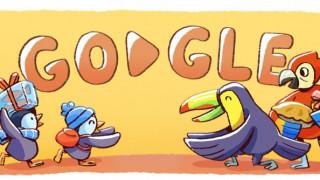 Η Google γιορτάζει τα Χριστούγεννα με ένα doodle