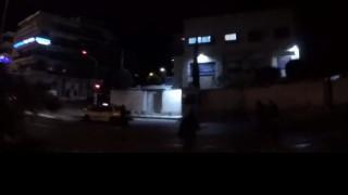 Ρουβίκωνας: Επίθεση με μπογιές στην πρεσβεία του Ισραήλ (vid)