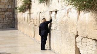 Το Ισραήλ θα δώσει το όνομα του Τραμπ σε σιδηροδρομικό σταθμό κοντά στο Τείχος των Δακρύων