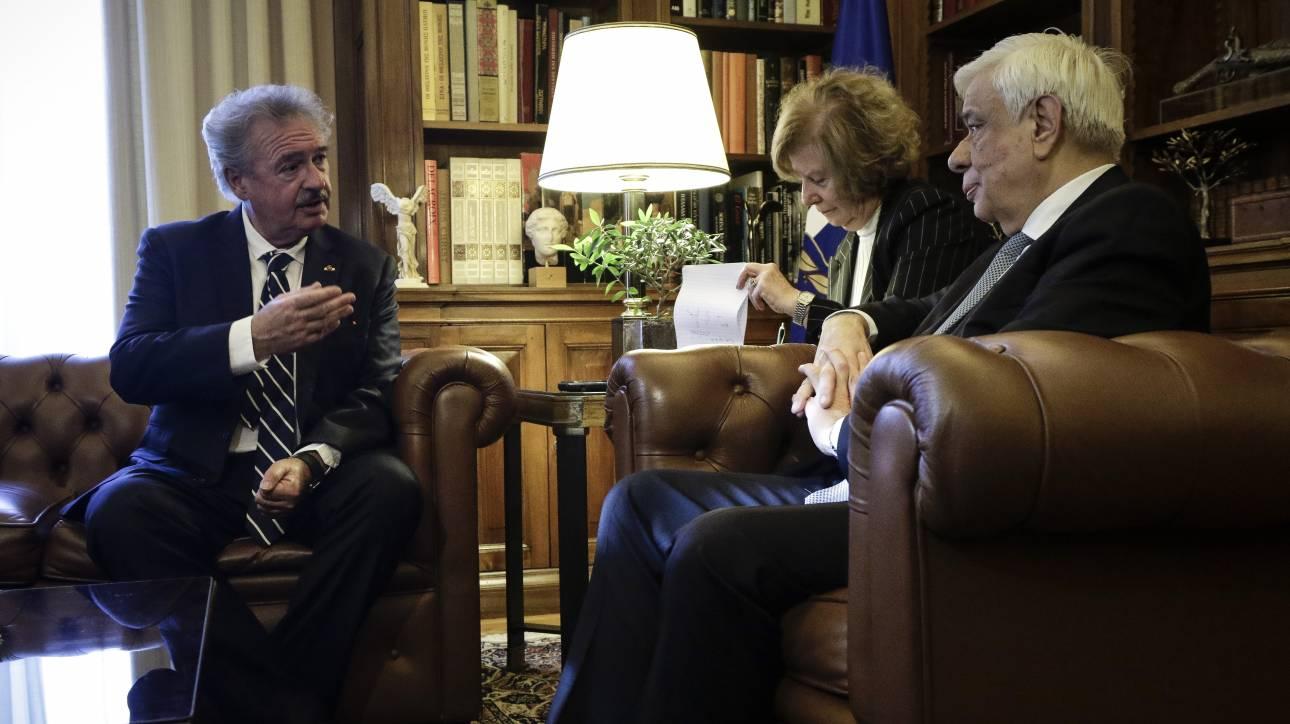 Παυλόπουλος: Ο ελληνικός λαός έκανε πολλές θυσίες για να μείνει στην Ευρώπη