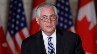Τίλερσον: Θα συνεχιστεί η πίεση για την αποπυρηνικοποίηση της Βόρειας Κορέας