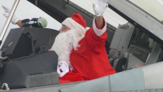Με… F-16 έφθασε στη Λάρισα ο Άγιος Βασίλης (pics&vid)