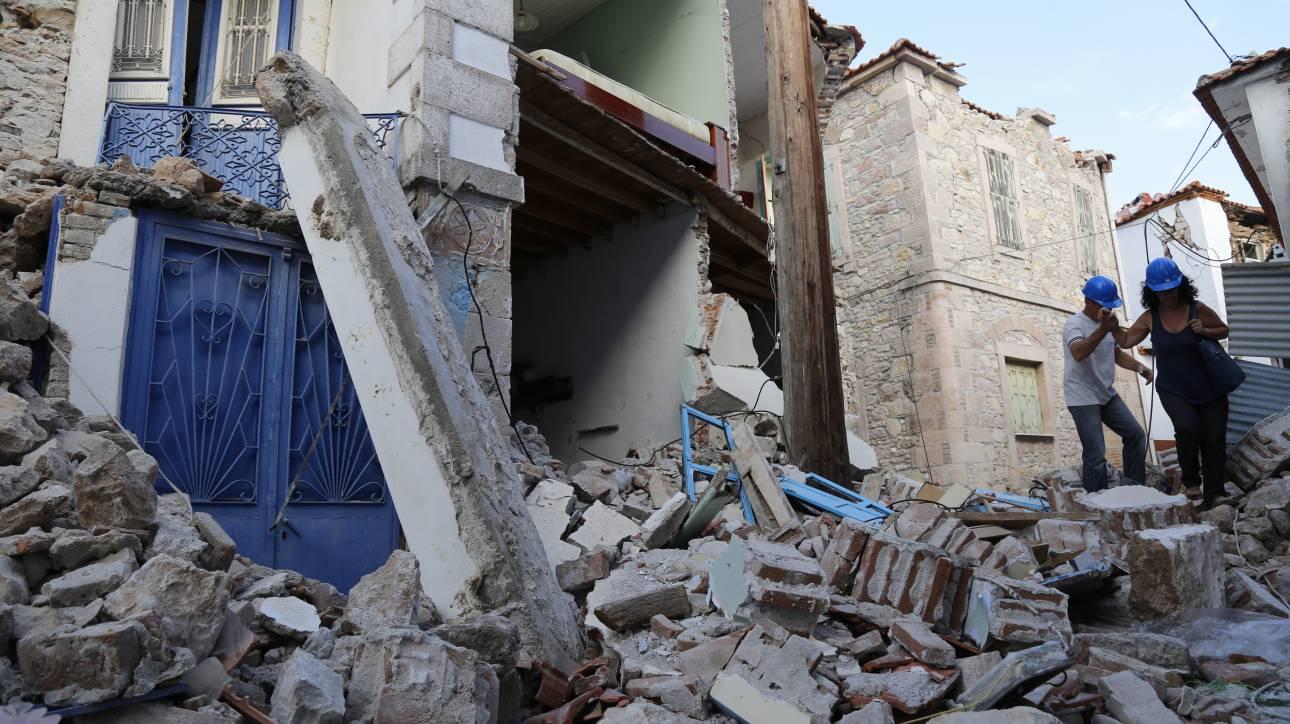 Δωρεάν φάρμακα στους σεισμόπληκτους της Βρίσας