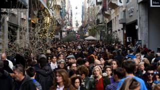 Εορταστικό ωράριο: Οι ώρες λειτουργίας των καταστημάτων μέχρι την παραμονή Πρωτοχρονιάς