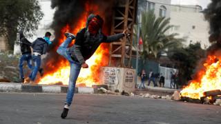 Δεκάδες Παλαιστίνιοι τραυματίες από πυρά του ισραηλινού στρατού (pics)