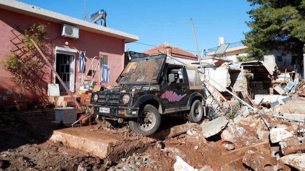 Δυτική Αττική: Εγκρίθηκαν 803 αιτήσεις αποζημιώσεων πλημμυροπαθών