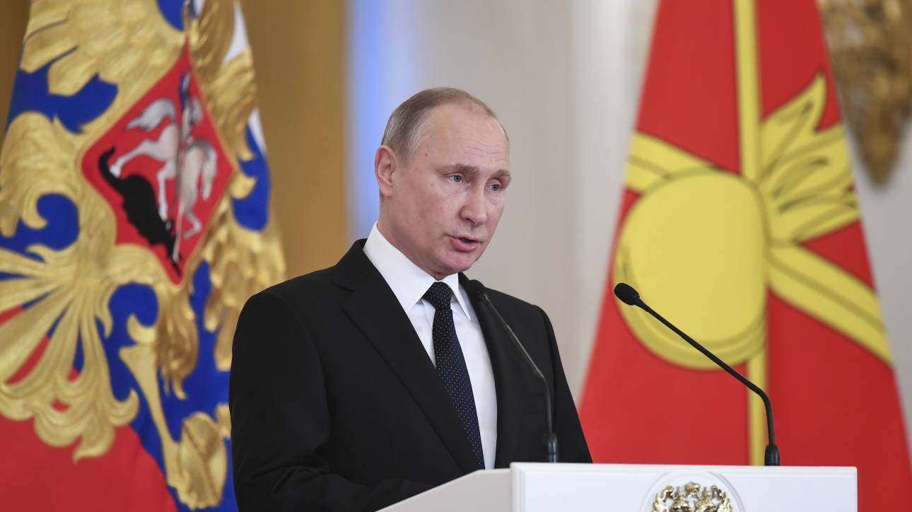 Πρωτοχρονιάτικο μήνυμα του Βλαντιμίρ Πούτιν με σημαντικούς αποδέκτες